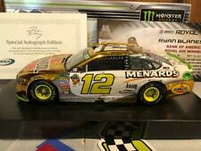 Autographed 2018 Action Ryan Blaney #12 Roval Charlotte Win Color Chrome 1 of 72