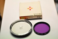 Hoya 58mm FLW filter with plastic case. New old stock.