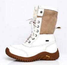 UGG Australia Adirondack Leather Boot White Women Sz 5 4211 *
