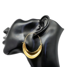 Gold Plated Ethnic Style Fulani Earrings