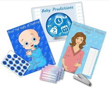Baby Shower Party Games  /  3 GAMES  /  BOY - BLUE  /  up to 20 players