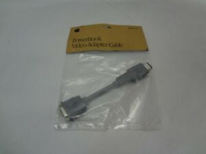 Genuine Apple M3927LL/A PowerBook video Adapter Cable OEM *New Unused*