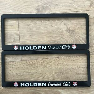 Holden Commodore Calais Berlina SS SSV SV6 Number Plate Surrounds Numberplate