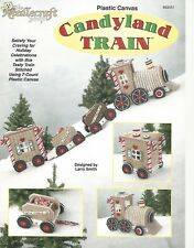 Candyland Train Plastic Canvas Patterns Holiday Cookies Candy Cane TNS Smith