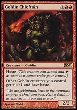 *MRM* FR Chef de clan gobelin (Goblin Chieftain) MTG Magic 2010-2015