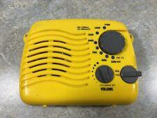 AM FM Shower Portable Radio - Works Great