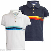 Boys Polo T-Shirt Brand Printed Short Sleeve Tee Shirt Kids White Top Children