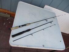 2 Shakespeare Ultra Lite Fishing Rod Ugly Stik LPSP 1146 1UL & Durango SP 50 2UL