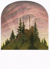 Postcard Caspar David Friedrich Cross in the Mountains State Museum Dresden
