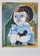 """Paloma un Bleu"" from Marina Picasso Estate Ltd Edition of 500 Litho 29.5""x21.5"""