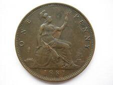 1881 penny gvf F102