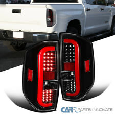 For Toyota 14-20 Tundra Pearl Black LED Sequential Tail Brake Lights Left+Right