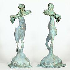 "Kunst Skulptur ""Dionysos"" 20cm Unikat Andreas Loeschner-Gornau"