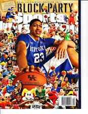 March 19, 2012 Anthony Davis Kentucky Wildcats First SPORTS ILLUSTRATED NO LABEL