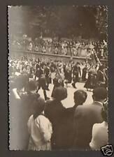 PAMPELUNE / PAMPLONA (ESPAGNE) Carnaval , Groupe Musique / Photo amateur en 1953