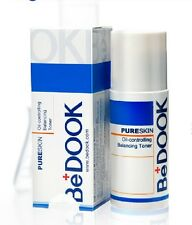 BeDOOK Pureskin Oil-controlling Balance Toner 60g New in box Free Ship #usau