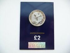 2018 RAF CENTENARY SPITFIRE £2 TWO POUND BU COIN CERTIFIED PACK BRAND NEW RARE
