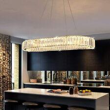 Kristall Hänge Deckenleuchte LED Kronleuchter Deckenlampe Leuchte Pendelleucht