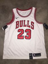 Nike NBA Chicago Bulls Michael Jordan Jersey Mens Size 52 XL