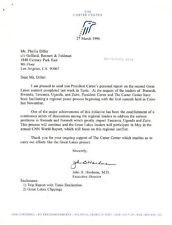 JOHN B. HARDMAN - TYPED LETTER SIGNED 03/27/1996