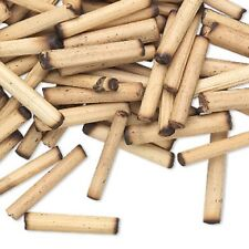 Natural Bamboo Round Tube Beads - 18x3mm-22x4mm fnt
