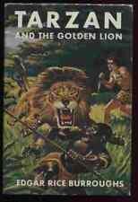 Tarzan and the Golden Lion by Edgar Rice Burroughs. Grosset & Dunlap, 1958.