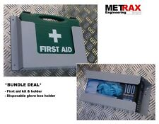 Disposable Glove box & First Aid Kit + Holder 1-10 Van Site Safety GIFT/PRESENT