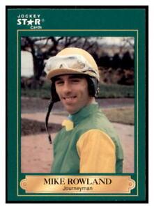 1991 Horse Star Jockey Cards Mike Rowland #171