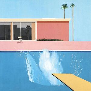 """David Hockney A Bigger Splash  Canvas 24""""x24"""""""