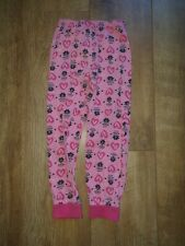 Girls Pj trousers Despicable me Pink minion pjs trousers age 5-6 years