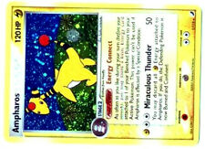 POKEMON EX UNSEEN FORCES HOLO N°   1/115 AMPHAROS 120