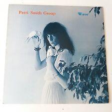Patti Smith - Wave - Vinyl LP UK 1st Press A//1 B//1 + Insert EX/NM