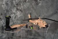 1989 Hasbro GI Joe DESERT APACHE AH-74 Helicopter *Sound Works* W/ FREE SHIPPING