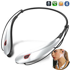 Neckband Bluetooth Headset Sports Stereo Earpiece For Samsung iPhone 8 7 6S 5S X