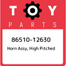 86510-12630 Toyota Horn assy, high pitched 8651012630, New Genuine OEM Part