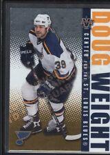 DOUG WEIGHT 2002/03 VANGUARD #84 LTD PARALLEL BLUES SP #171/450