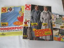 Alte Neckermann Sonderpost Modemagazin Sonderblatt Katalog Winter 1980-1981