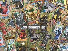 20 verschiedene limitierte LEGO® Ninjago Trading Cards Serie 2, 3, 4, 5, 6 NEU