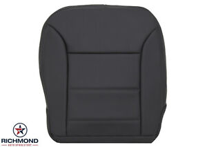 2009-2011 Mercedes Benz ML- Driver Side Bottom GENUINE Leather Seat Cover Black