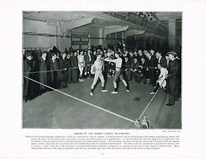 Boxing Regent Street Polytechnic London Antique Print Picture 1897 TQE#114