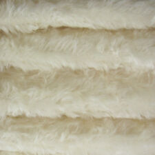 "1/6 yd 340S/C White INTERCAL 5/8"" Medium Density Curly German Mohair Fur Fabric"