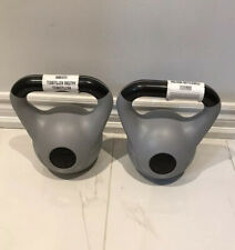 SET OF TWO -Tone Fitness Kettlebells 12lbs - NEW