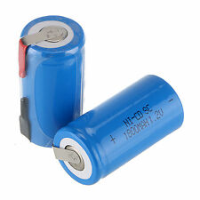 HOT 2 pcs SUB C SC 1.2V 1800mAh NI-CD NICD / NiMH batteria ricaricabile Power