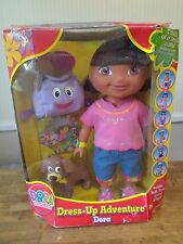 Dora The Explorer Dress Up Adventure Doll W/ BACKPACK & PUPPY PERRITO Rare