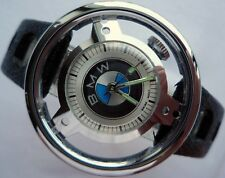 610c222b6fbaa BMW Classic Car Accessory Rally Racing Steering Wheel Swiss Mechanical Watch