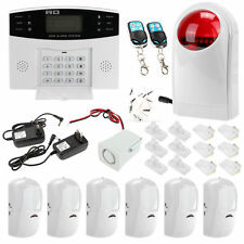 LCD Wireless GSM SMS Home Security Burglar House Alarm System Auto Phone Dialer