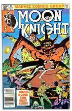 1)MOON KNIGHT #7(9/81)1:CAJUN CREED(MOENCH/SIENKIEWICZ)NEWSSTAND CVR(CGC IT)F/VF