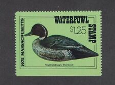 MA2 - Massachusetts State Duck Stamp. Single.   MNH. OG.