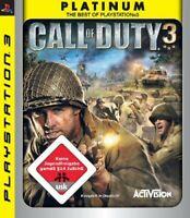 PS3 / Sony Playstation 3 Spiel - Call of Duty 3 [Platinum] DEUTSCH mit OVP