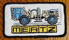 New Listing Vintage Mertz Farming Equipment Manufacturer Embroidered Patch